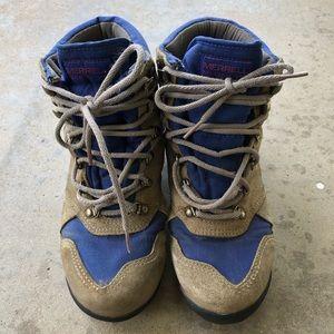 Vintage Merrill Gore Tex hiking boots.